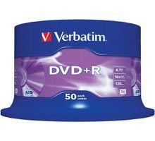 Disqe Verbatim Verbatim DVD + R 16x 4.7GB, 50 copë