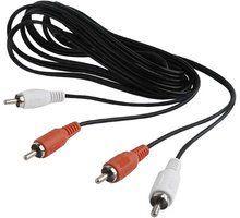 Kabllo Gembird CABLEXPERT, 2xcinch/2xcinch, 1,8m audio