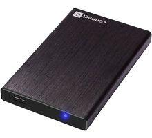 Kuti e jashtme Connect IT Lite, e zezë