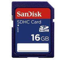 Kartë memorie SDHC SanDisk, Klasa 4, 16GB