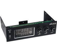 Kontroller AKASA AK-FC-07BK për procesor, i zi