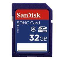 Kartë memorie SDHC SanDisk, Klasa 4, 32GB