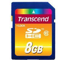 Kartë memorie Transcend SDHC Klasa 10, 8GB