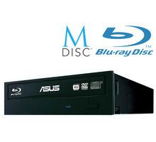 Blu-Ray burner i brendshëm Asus BW-16D1HT, SATA, i zi