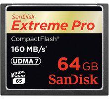 Kartë memorie SanDisk Extreme Pro 64GB 160MB / s